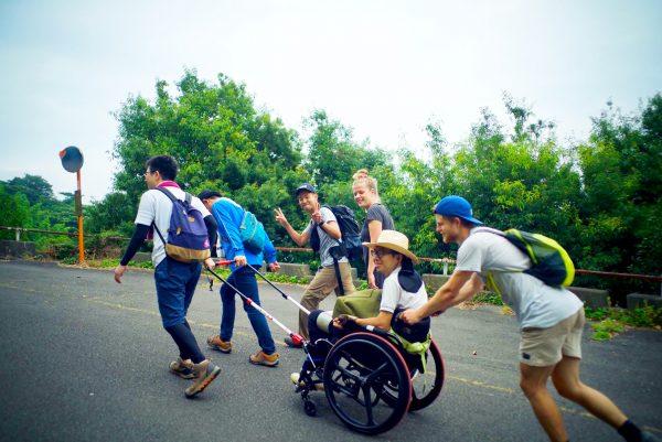 「JINRIKI」を使って登山へ挑戦中